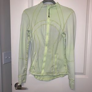 Light Green Lululemon Define Jacket